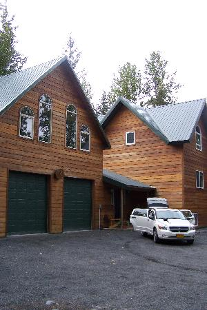 Havenwood Guest House, above the garage