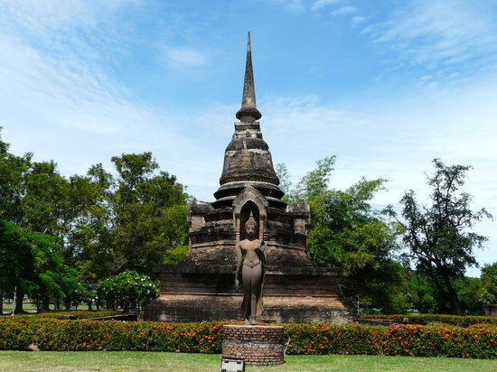 Sukhothai, Tailandia: The land and gardens are beautifully kept.