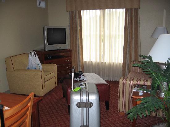 Homewood Suites by Hilton Princeton: Living room