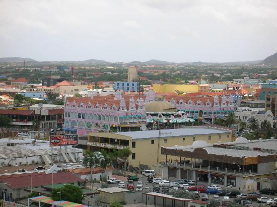 Aruba: View of Orangistad.