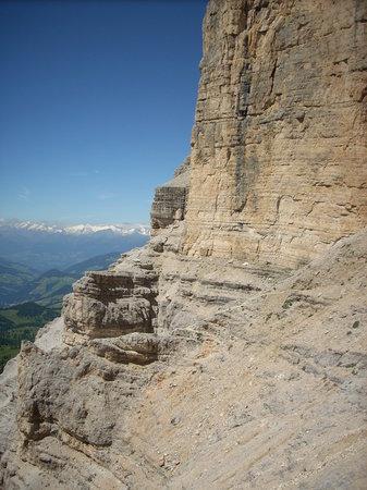 Trentin-Haut-Adige, Italie: via ferrata sasso della croce