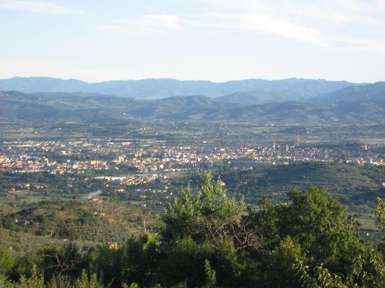 Casa Pippo: Arezzo from teh Villa