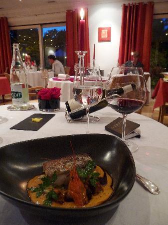 Relais & Chateaux - Hostellerie de Levernois : Dinner!