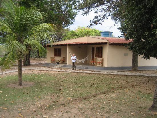 Barão de Melgaço, MT: Our quarters at Pousada do Rio Mutum