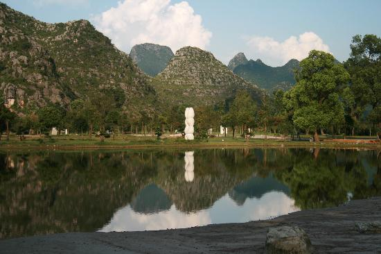 Club Med Guilin: View in the Park Grounds