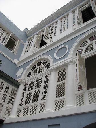 La Fortaleza - Palacio de Santa Catalina: View from the courtyard