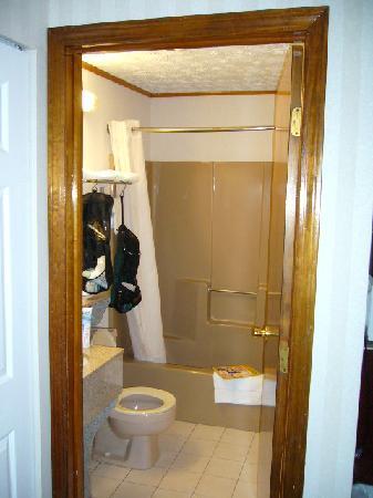 Rodeway Inn Branford: Bathroom