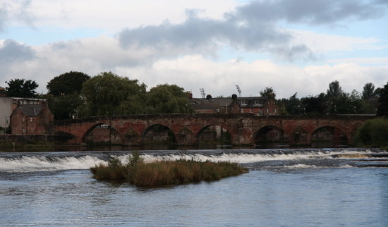Дамфрис, UK: Devorgilla Bridge in Dumfries