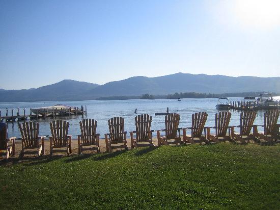 Blue Lagoon Resort: Adirondack Chairs