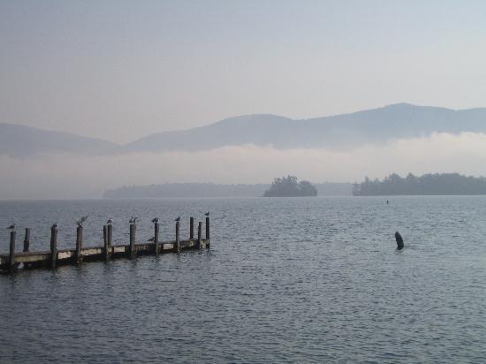 Blue Lagoon Resort: Fog view