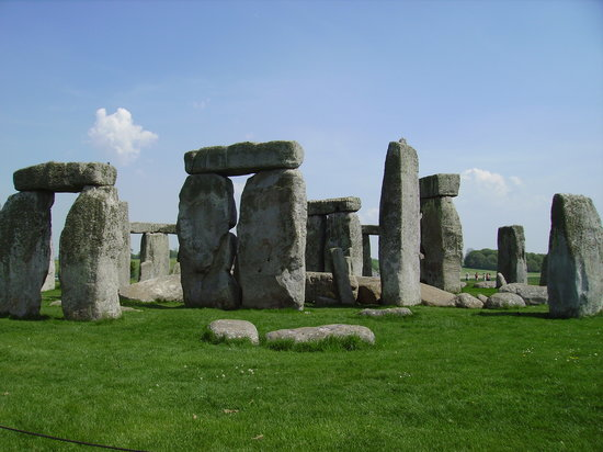 İngiltere, UK: (nearby) Salisbury, Stonehenge