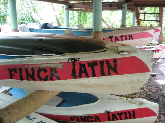Finca Tatin Hotel: Kayaks