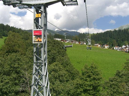 Adula Hotel: Chair lift