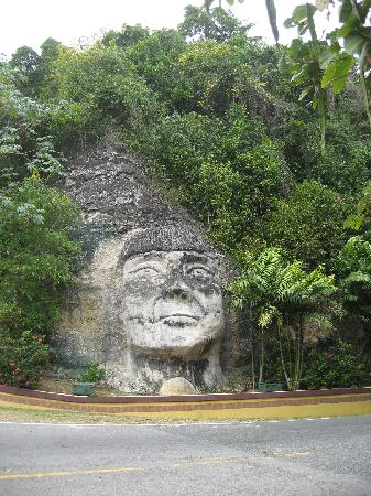 Taino Indian-Rt. 2, Quebradillas