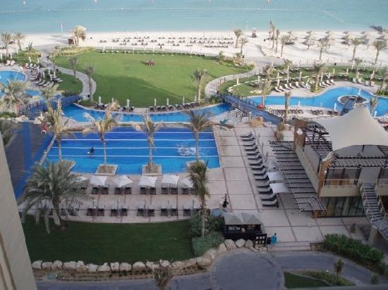 The Westin Dubai Mina Seyahi Beach Resort & Marina: View from room