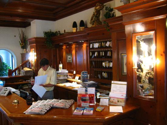 Hotel Garmischer Hof: Lobby