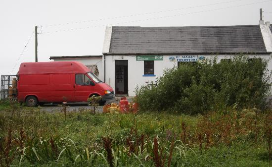 Ireland: co. Mayo - Clare Island Shop and Post Office