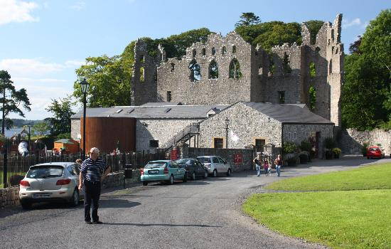 "Belvedere House Gardens & Park: Ireland: co. Westmeath - Belvedere House, ""Jealousy Wall"" and cafe"