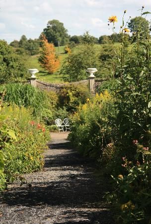 Belvedere House Gardens & Park: Ireland: co. Westmeath - Belvedere House, Walled Garden