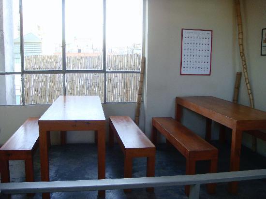 Zentrum Hostel Boutique : Breakfast area