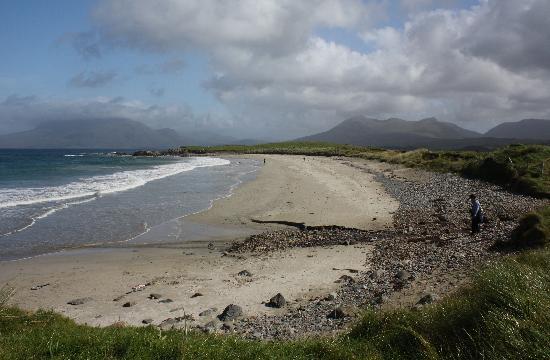 Ireland Co Galway Renvyle Beach Picture Of Renvyle