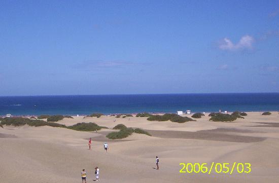 Gran Canaria, Spanien: DUNAS DE MASPALOMAS-PLAYA NUDISTA
