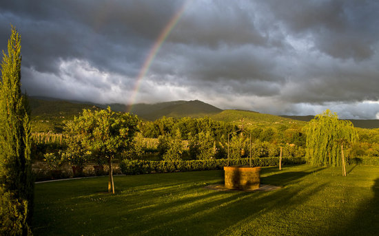 Agriturismo Savernano: Sunset Rainbow