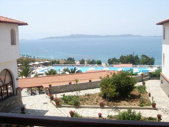 Akrathos Beach Hotel: sea view