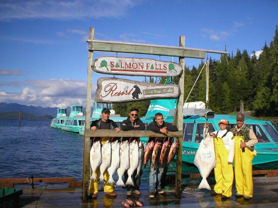Salmon Falls Resort: Just for the Halibut