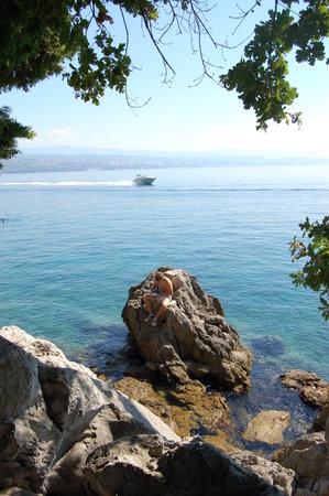 Mali Losinj, Kroatia: Opatja