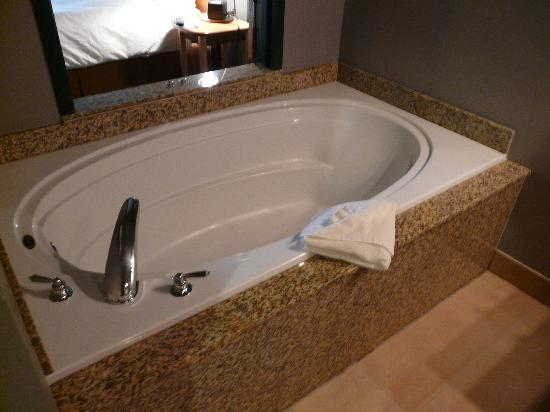 Dimond Center Hotel: Giant Tub!