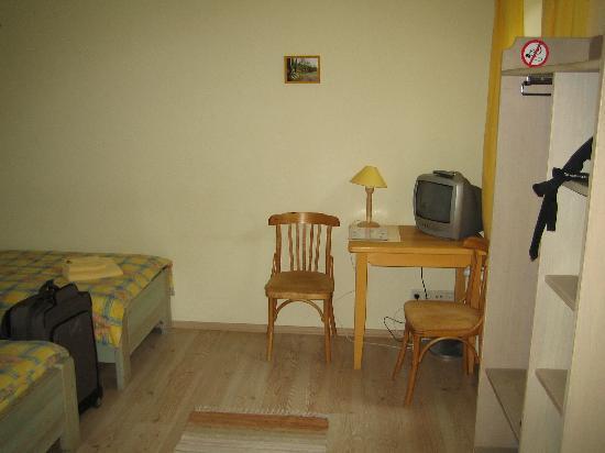 Hotel Raibie Logi : Vista de la habitación