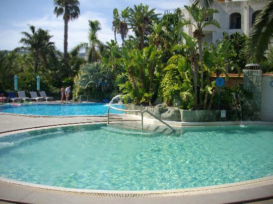 Piscine esterne foto di hotel parco maria terme forio for Piscine esterne rettangolari
