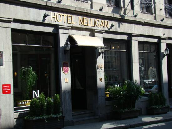 Hotel Nelligan: Entry