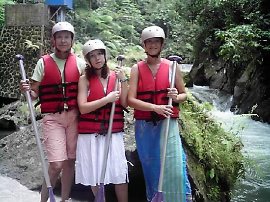 Bali, Indonesia: Rafting on the agung river