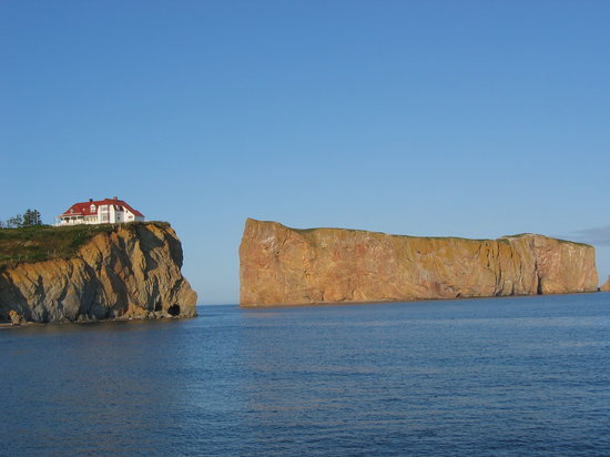 Perce, Canadá: View from our room!