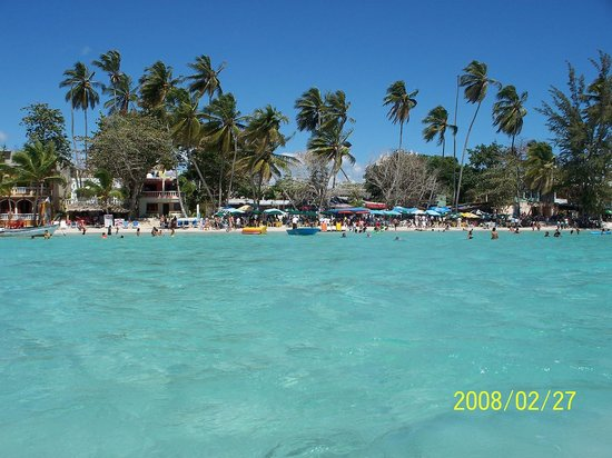 Santo Domingo, Den dominikanske republikk: View of Boca Chica