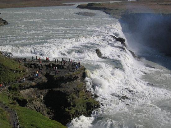 Island: waterfall near Reykjavik