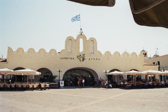 TUI MAGIC LIFE Marmari Palace by Atlantica: marché couvert-Kos