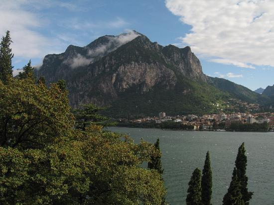 Clarion Collection Hotel Griso Lecco : vue sur le lac du balcon (2)