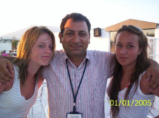 Eken Resort Hotel : Mehmet, bar and resteraunt manager