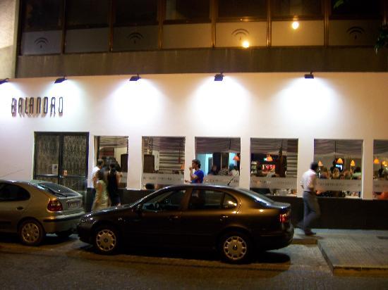 Outside view - Balandro Restaurant