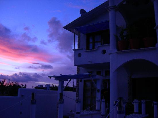 Quinta Lili: Puesta de sol desde Quinta Lili