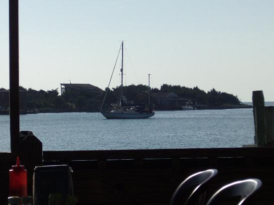 Jolly Roger Pub and Marina: View from the deck