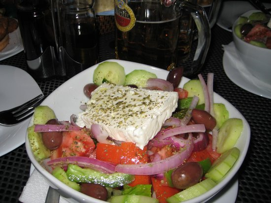 Crystal Palace Studios: Vicky's Greek salad