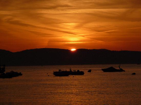 Hotel La Playa: Sunset at Alghero