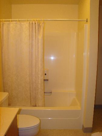 Travelodge Deer Lodge Montana: spacious bathroom