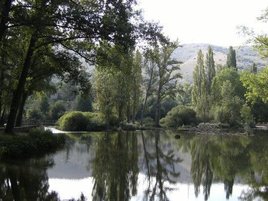 Soria, Spain: El rincón del poeta....Machado