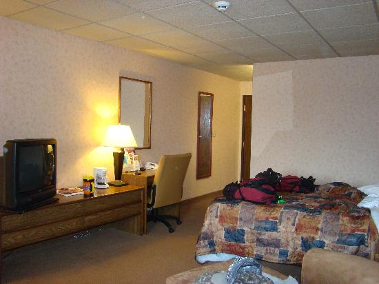 Comfort Inn Butte: inside our room