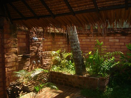 Koyao Island Resort: Our outdoor bathroom